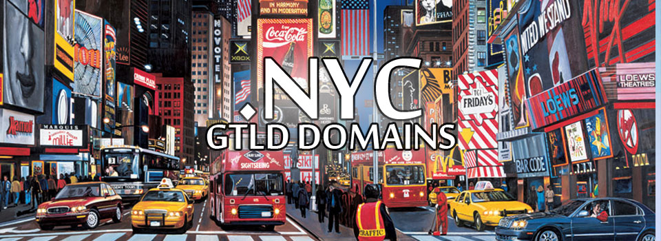 NYC GTLD Domains